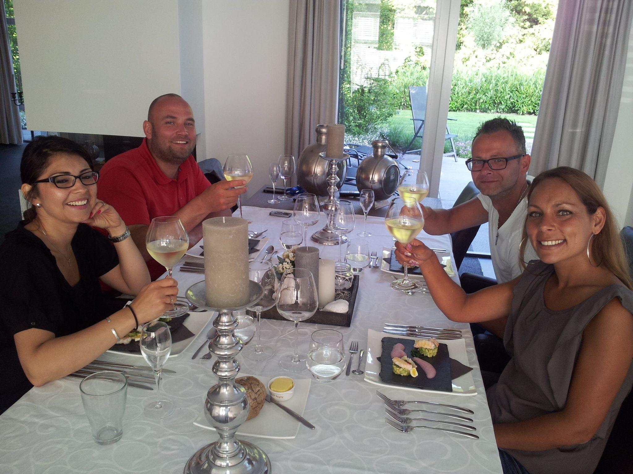 Diner aan huis Chef Nicolas