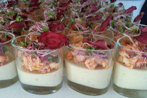 Bloemkoolcreme-met-rivierkreeftjes-Chef-Nicolas