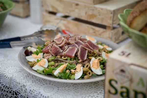 Salade niçoise door Chef Nicolas