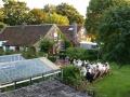 Verjaardagsdiner in de tuin