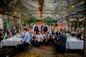 Pop-up diner in de Utrechtse Snorfabriek