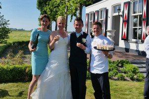 Catering bruiloft op locatie door Chef Nicolas