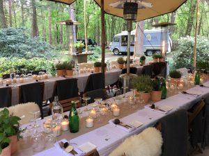 Diner op locatie door Chef Nicolas